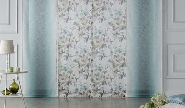 Productos paneles japoneses de tela cortinas a medida madrid - Cortinas de paneles japoneses ...