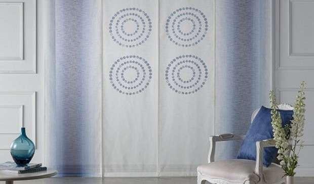 Productos paneles japoneses de tela cortinas a medida - Paneles japoneses en madrid ...