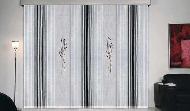 Productos paneles japoneses de tela cortinas a medida madrid - Tienda de cortinas madrid ...
