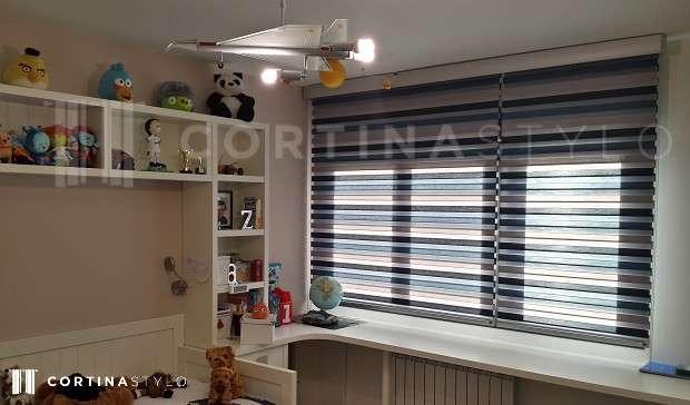 Productos estores enrollables d a y noche cortinas a medida madrid - Estores enrollables madrid ...