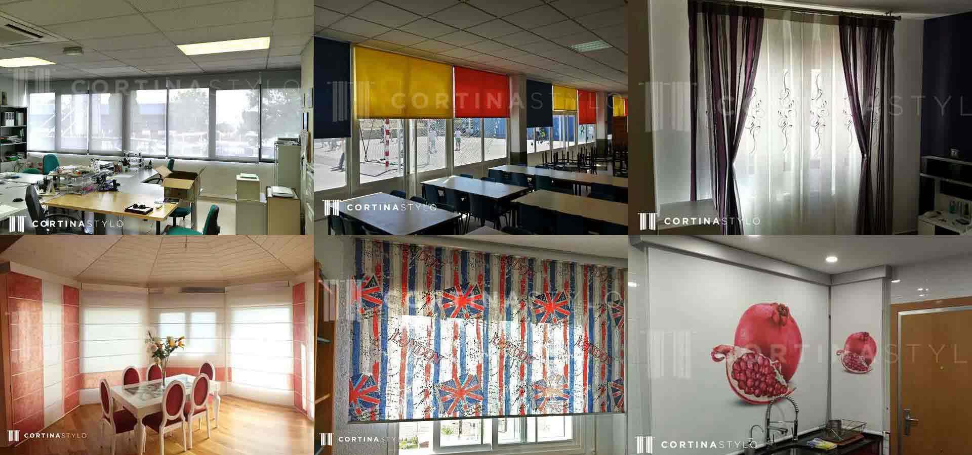 El mundo de las cortinas en madrid cortinas estores madrid - Cortinas y estores madrid ...